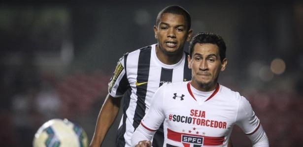 Dorival Júnior não esconde o desejo de voltar a comandar Ganso na Vila Belmiro - Ricardo Nogueira/Folhapress
