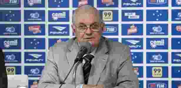 Presidente do Cruzeiro, Gilvan de Pinho Tavares - Washington Alves/Light Press/Cruzeiro - Washington Alves/Light Press/Cruzeiro