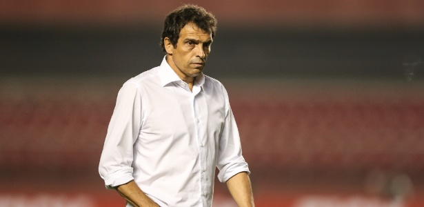 Milton Cruz durante clássico entre São Paulo e Santos, em 2015