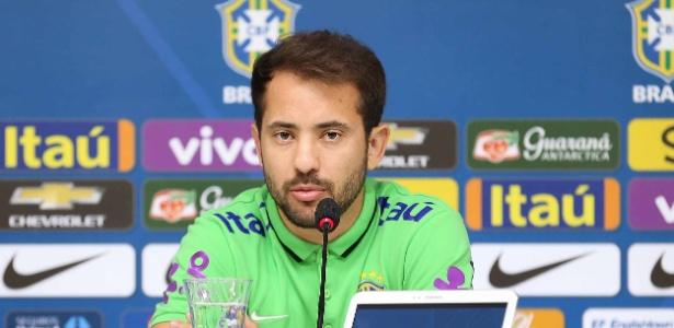 Everton Ribeiro defendeu a seleção brasileira durante a Copa América 2015, no Chile