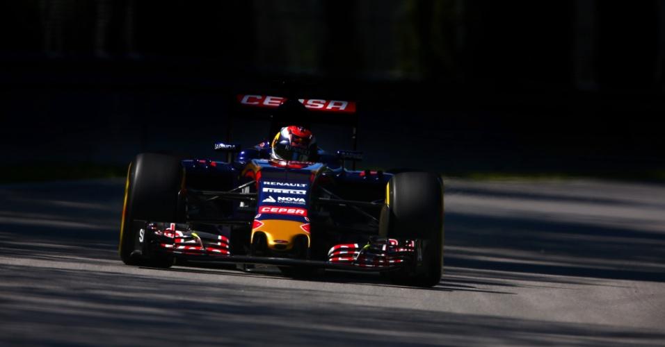 Max Verstappen, da Toro Rosso, discutiu com Felipe Massa na semana de prova no Canadá