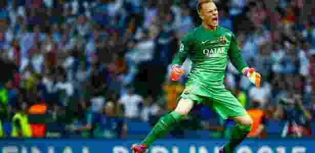 Ter Stegen se tornou uma das referências no elenco do Barcelona - Reuters / Kai Pfaffenbach