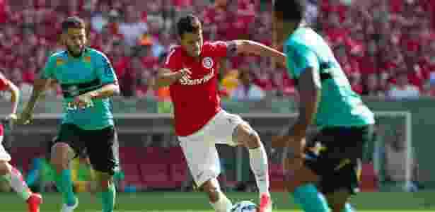 Até mesmo Nilmar, que chegou ao Corinthians como jogador experiente, deve render dinheiro - Alexandre Lops/AI Inter