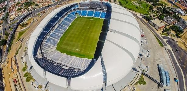 Estádio Arena das Dunas, em Natal, é alvo de auditoria do TCE-RN