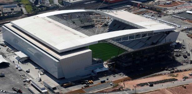Arena Corinthians será o palco do jogo entre Corinthians e Vitória, nesta segunda