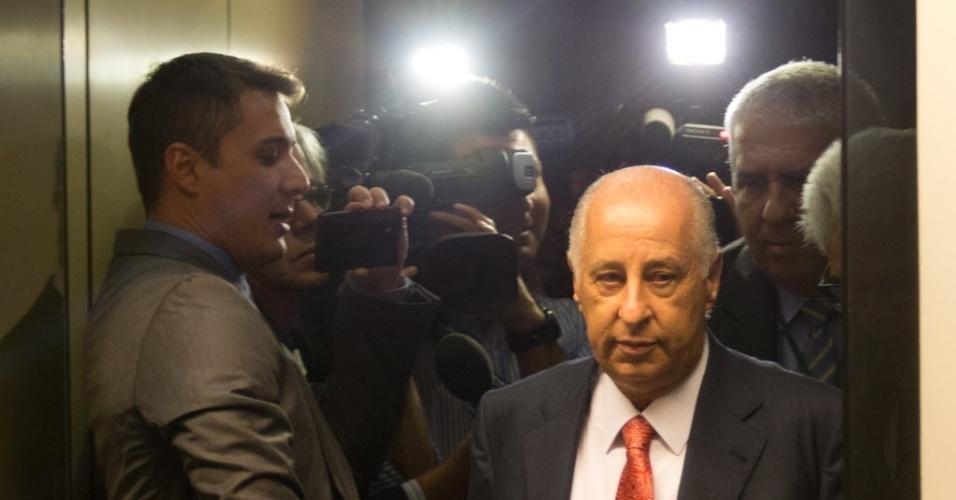 Del Nero afirmou desconhecer supostas corrupções ocorridas na gestão Marin