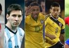 Copa América 2015 chega com craques, equilíbrio e importância - Arte/UOL