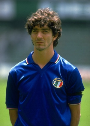 Paolo Rossi, ex-jogador da seleção italiana - David Cannon/Allsport
