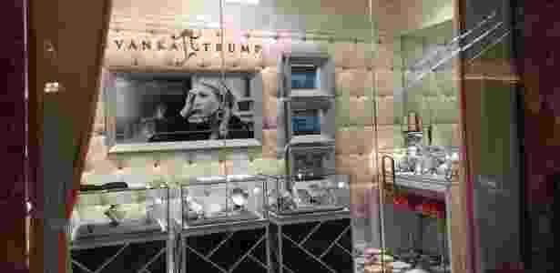 Trump Tower conta com lojas de luxo, como joalheria - Natasha Madov/ UOL - Natasha Madov/ UOL