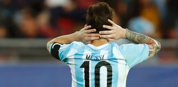 Messi ainda não conquistou um título pela seleção adulta da argentina