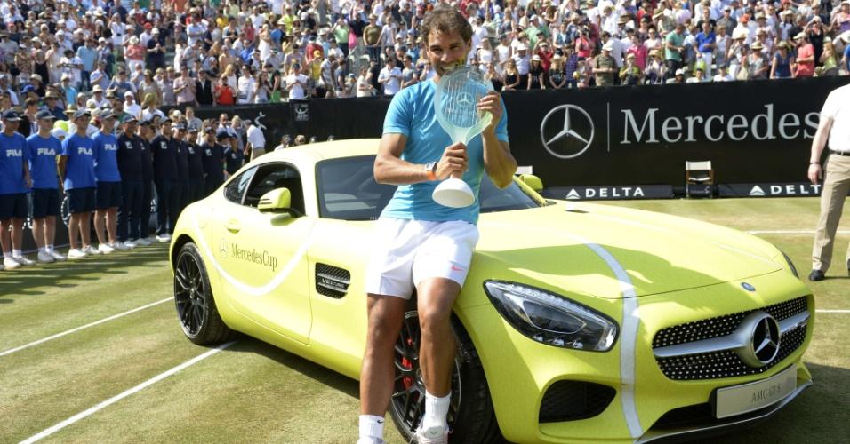 Nadal ganhou também uma Mercedes AMG GTS