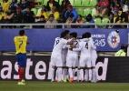 """Com gol de """"sueco"""", Bolívia bate Equador e encerra jejum de 18 anos - AFP PHOTO / LUIS ACOSTA"""