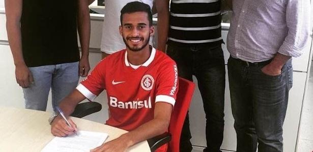 Goteira abandonou o apelido após assinar com o Inter e agora é chamado apenas de Léo Ávila