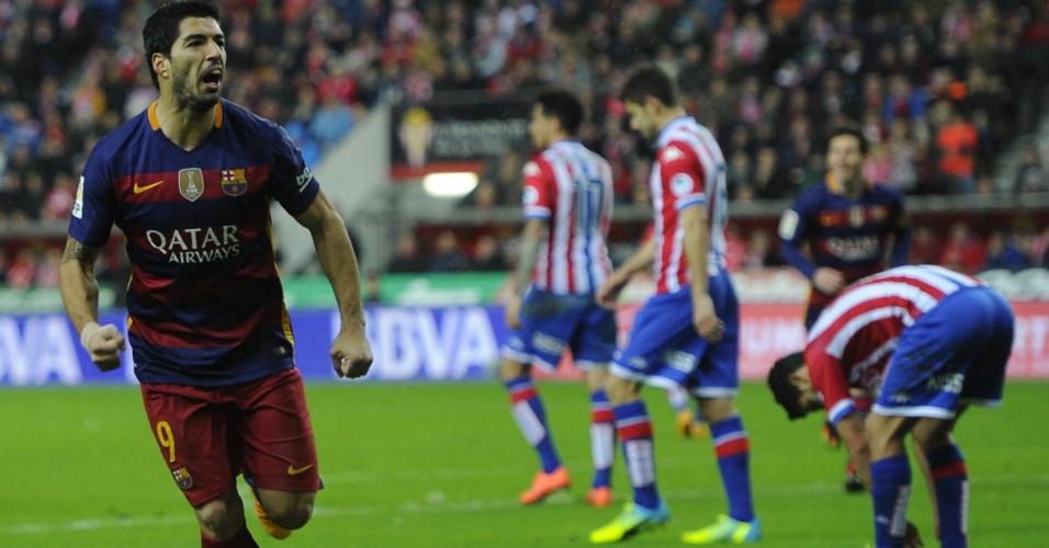 Luis Suárez marca após errar cobrança de pênalti