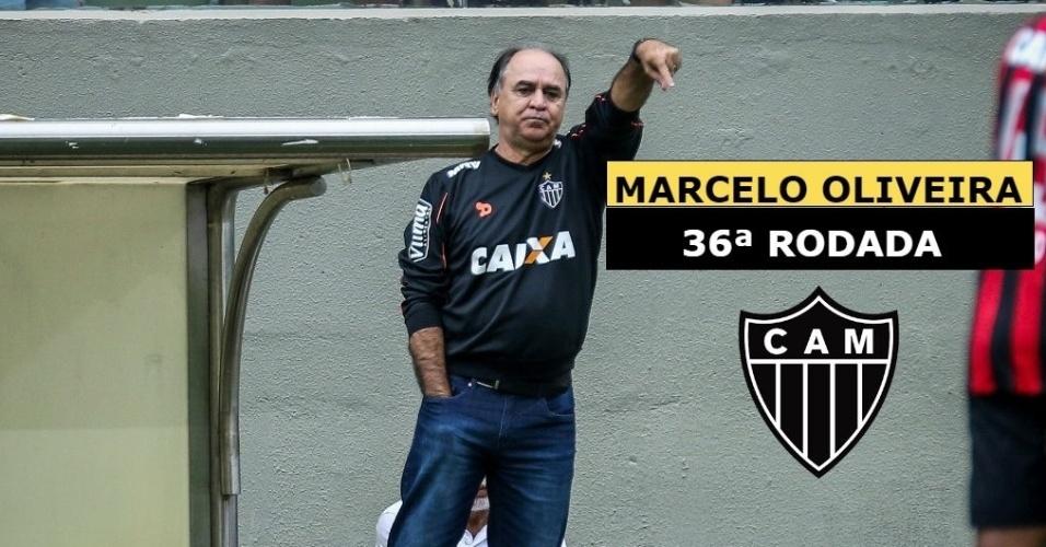 Marcelo Oliveira foi demitido após perder partida de ida da decisão da Copa do Brasil
