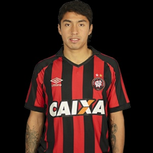 Luciano Cabral, jogador do Atlético-PR