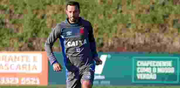Nenê, que completa 36 anos, não treinou nesta quarta-feira no Vasco - Carlos Gregório Júnior / Flickr do Vasco