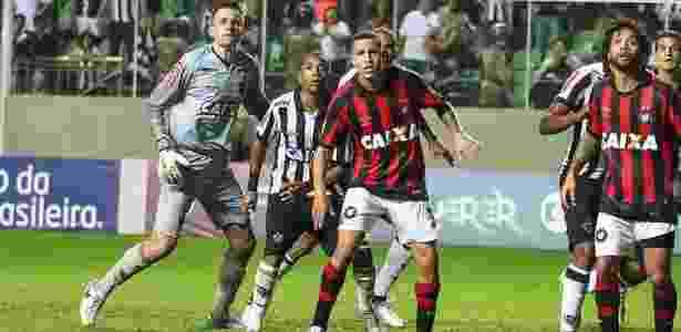 No primeiro turno, Sidcley deu a vitória ao Furacão em BH - Bruno Cantini/Clube Atlético Mineiro