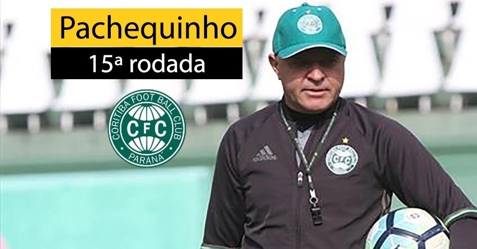 Pachequinho não resistiu à derrota do Coritiba para a Ponte Preta por 4 a 0 e foi demitido