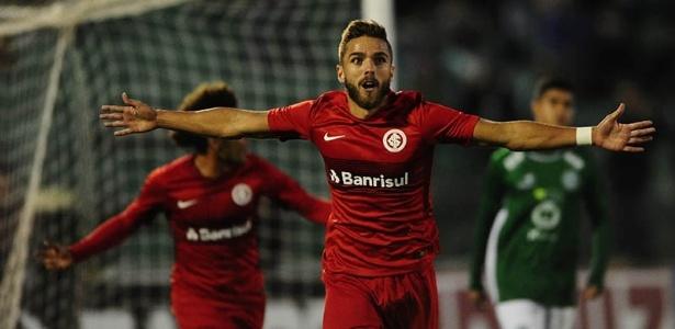 Claudio Winck marcou o segundo gol do Inter contra o Guarani, no sábado