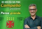 Candidato do Vasco se refere ao Fla como