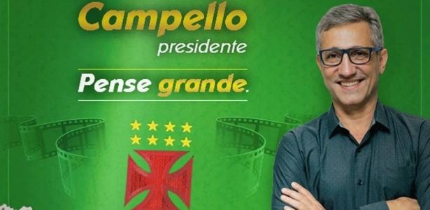Alexandre Campello é candidato de oposição do Vasco