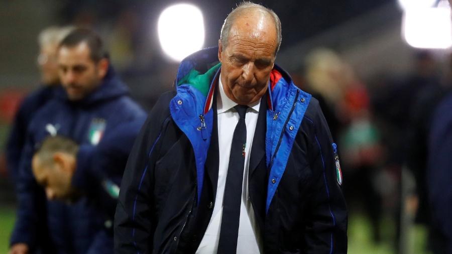 Gian Piero Ventura: um ano e meio de desempenhos ruins e um resultado catastrófico