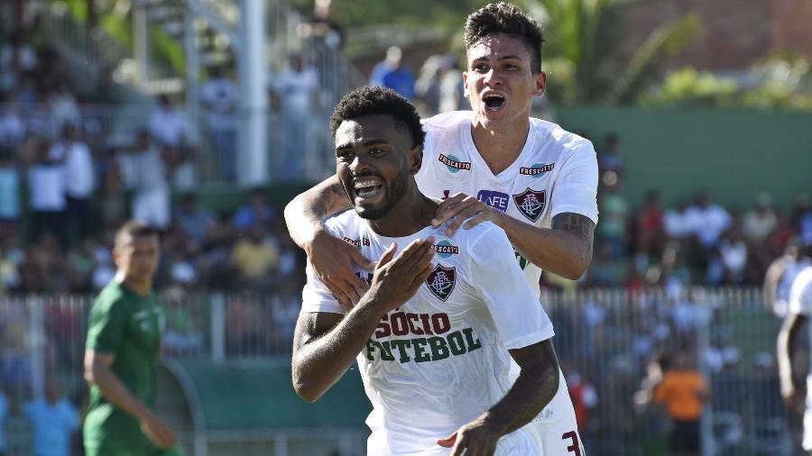 Sem espaço no profissional, o volante Caio deve fazer parte do time sub-23 em 2020 - Mailson Santana/Fluminense