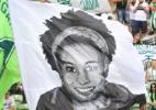 Torcida do América-MG homenageia Marielle com bandeira - FERNANDO MORENO/FUTURA PRESS/ESTADÃO CONTEÚDO