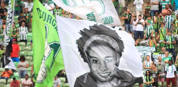 Torcida do América homenageia Marielle Franco na primeira rodada do Brasileirão