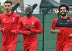 Após férias, Salah e Mané se juntam ao Liverpool para treinos - Divulgação/Liverpool