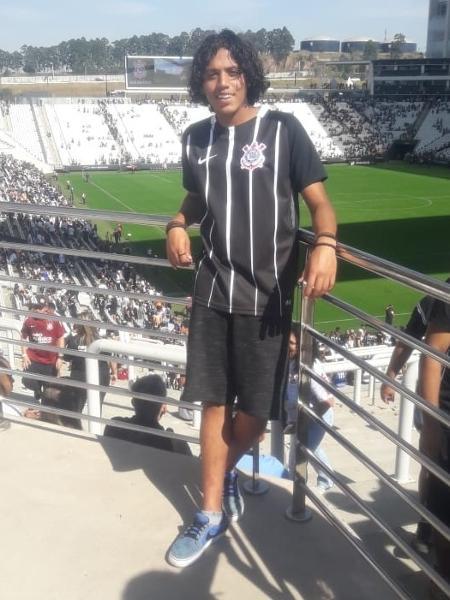 Douglas Murilo Celestino, uma das vítimas do massacre em Suzano, era fanático pelo Corinthians - Arquivo pessoal