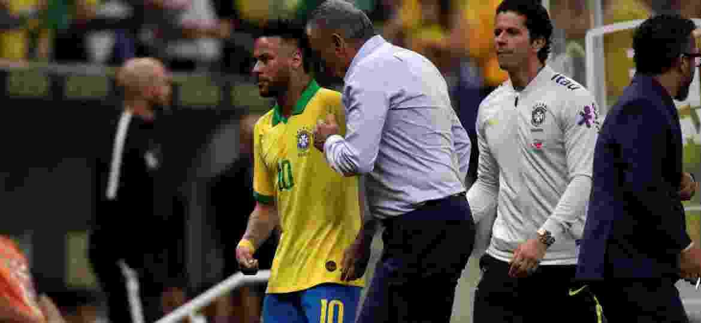Ausência de Neymar virou assunto no treinamento da seleção boliviana - Ueslei Marcelino/Reuters