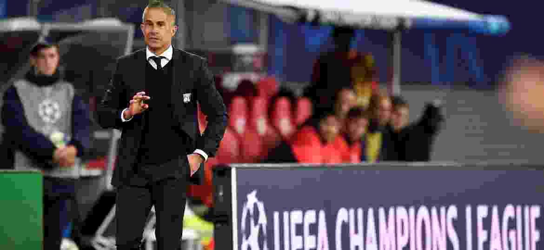 Sylvinho foi demitido do Lyon depois da derrota para o St. Étienne - Matthias Rietschel/Reuters