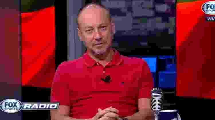 Flavio Gomes, comentarista do Fox Sports - Reprodução - Reprodução