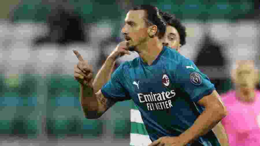 """Zlatan Ibrahimovic usou irreverência ao anunciar que está com covid-19 - REUTERS/Lorraine O""""Sullivan"""