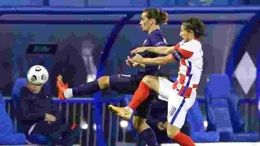 Croácia e França jogam pela Liga das Nações - Reuters/Antonio Bronic