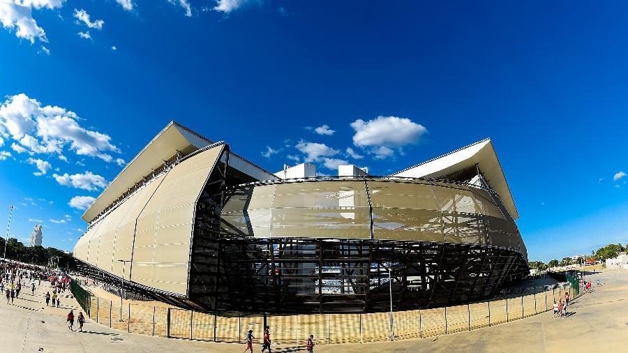 Arena Pantanal palco do encontro entre Cuiabá e Corinthians  - Buda Mendes/Getty Images