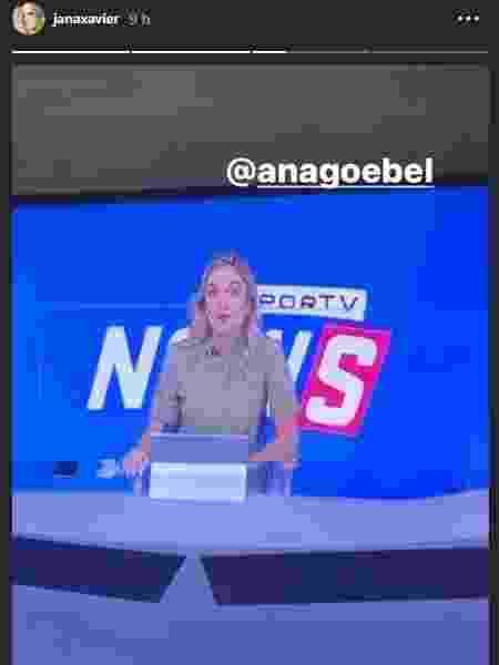 Janaina vê Ana Helena - Reprodução - Reprodução