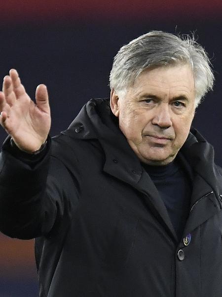 Carlo Ancelotti, o novo técnico do Real Madrid -  Pool via REUTERS/Peter Powell
