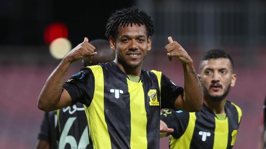 O atacante ex-Corinthians, hoje no Al-Ittihad, soma 16 gols em 26 jogos da temporada 2020/2021 - Divulgação/Ittihad