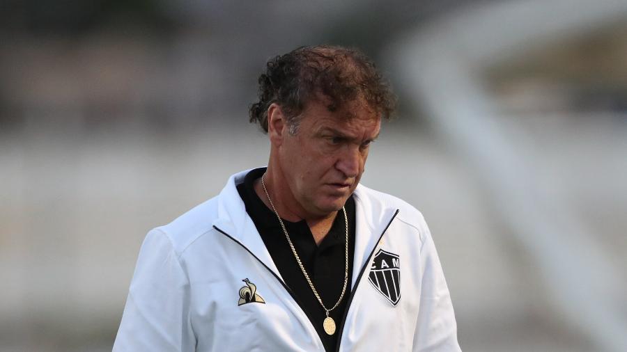 Cuca voltou ao Atlético-MG para comandar o clube na temporada 2021 - Pedro Souza/Atlético-MG