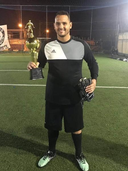 Diego Nascimento, goleiro de aluguel - Arquivo pessoal - Arquivo pessoal