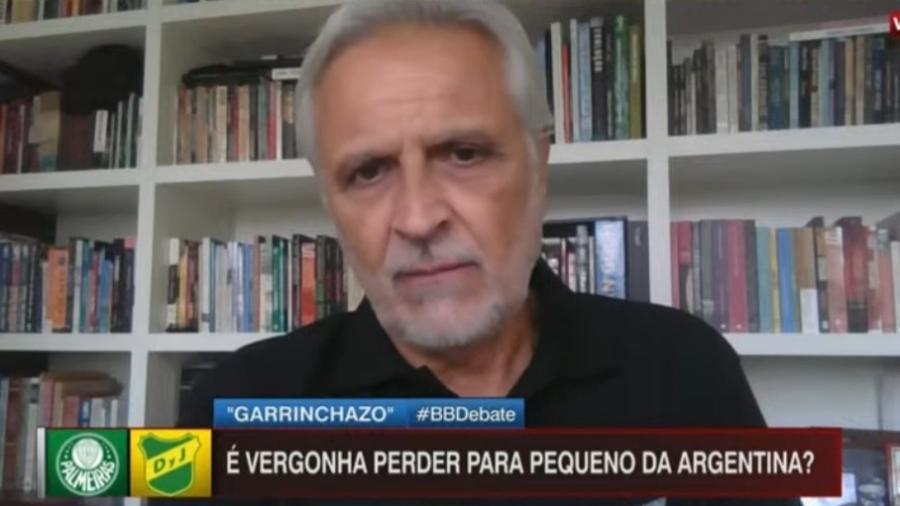"""Sormani vê """"vexame"""" do Palmeiras em derrota para o Defensa y Justicia - Reprodução/ESPN"""