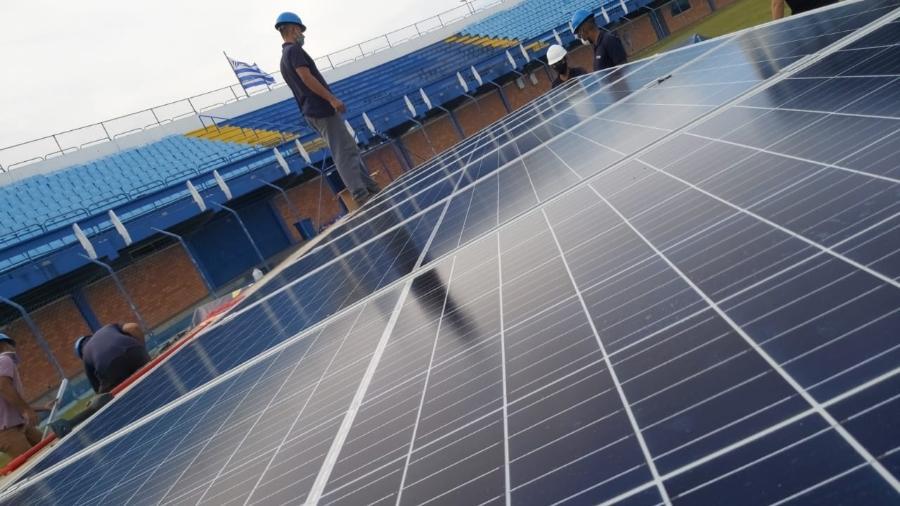 Avai usará energia sustentável por economia e para ajudar o meio ambiente - Divulgação