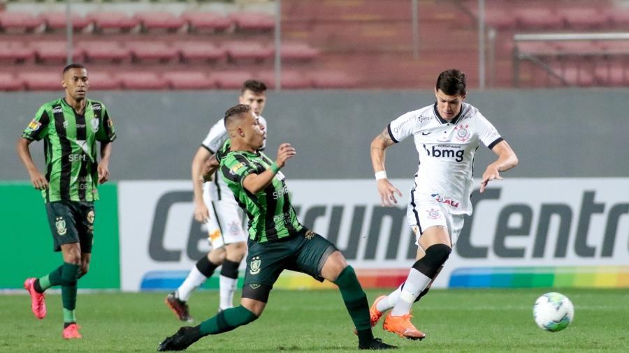 América-MG eliminou o Corinthians na Copa do Brasil do ano passado em jogo marcado por polêmica - Rodrigo Coca/ Ag. Corinthians