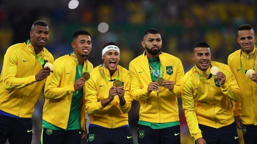 Brasil é o atual campeão olímpico no futebol masculino - Divulgação
