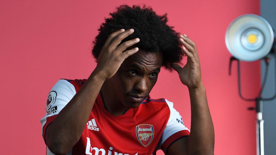 Willian deixou o Arsenal e volta para o Corinthians - David Price/Arsenal FC via Getty Images