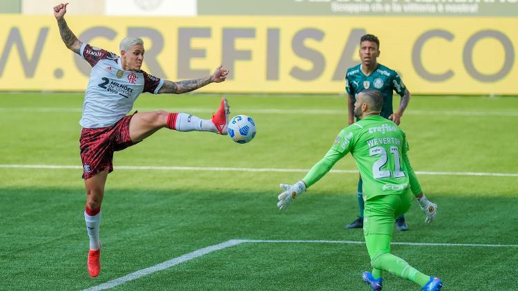 Confira os melhores momentos de Palmeiras 1x3 Flamengo