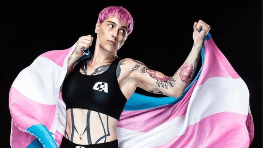 Alana McLaughlin é a primeira lutadora trans a competir oficialmente desde 2014 - Reprodução/Instagram